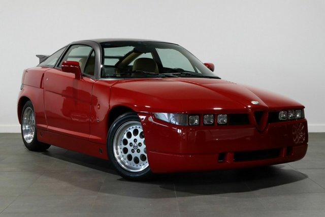 Used Alfa Romeo SZ Bayswater, 1990 Alfa Romeo SZ Red 5 Speed Manual Coupe