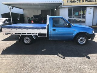 2002 Holden Rodeo TF MY02 LX 4x2 Cape Blue Metallic/ 5 Speed Manual Utility.