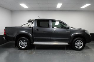 2014 Toyota Hilux KUN26R MY14 SR5 Double Cab Grey 5 Speed Automatic Utility