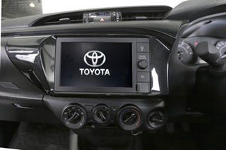 Toyota Hilux Standard Grey Metallic Manual.