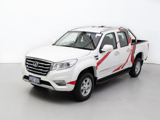 2014 Great Wall X200 CC6461KY MY11 (4x4) White 5 Speed Automatic Wagon