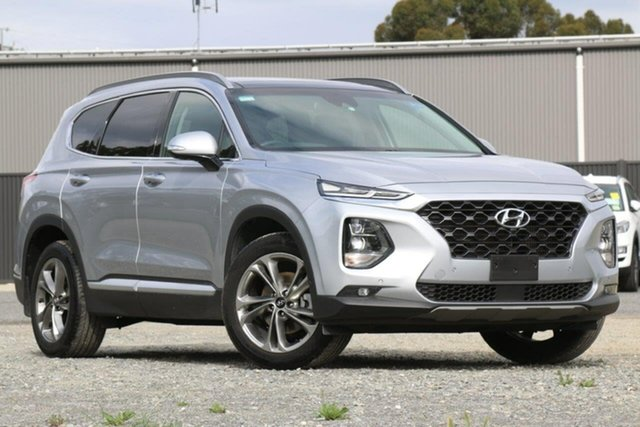 Used Hyundai Santa Fe TM MY19 Highlander Clare, 2018 Hyundai Santa Fe TM MY19 Highlander Silver 8 Speed Sports Automatic Wagon