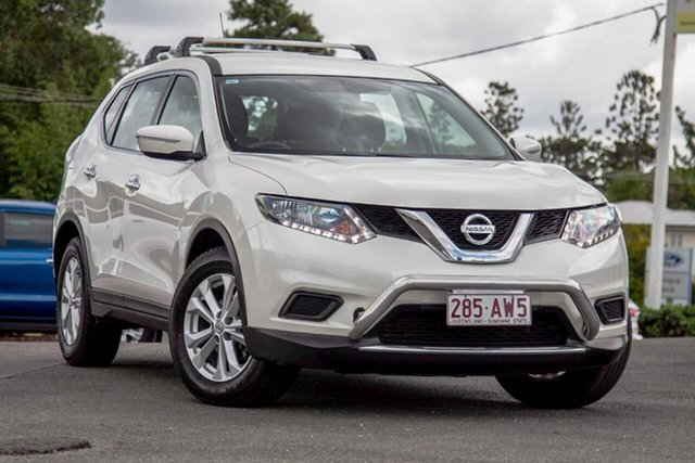 Used Nissan X-Trail T32 ST X-tronic 4WD Gympie, 2015 Nissan X-Trail T32 ST X-tronic 4WD Ivory Pearl 7 Speed Constant Variable Wagon