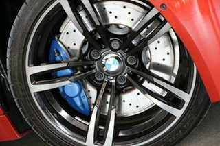 2014 BMW M4 F83 M-DCT Red 7 Speed Sports Automatic Dual Clutch Convertible.