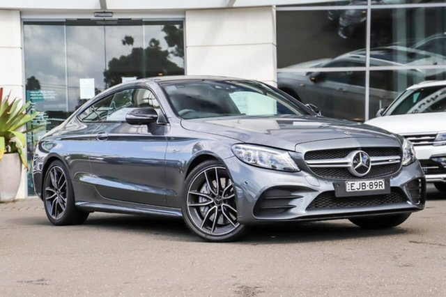 Used Mercedes-Benz C-Class C205 800MY C43 AMG 9G-Tronic 4MATIC Sutherland, 2019 Mercedes-Benz C-Class C205 800MY C43 AMG 9G-Tronic 4MATIC Grey 9 Speed Sports Automatic Coupe