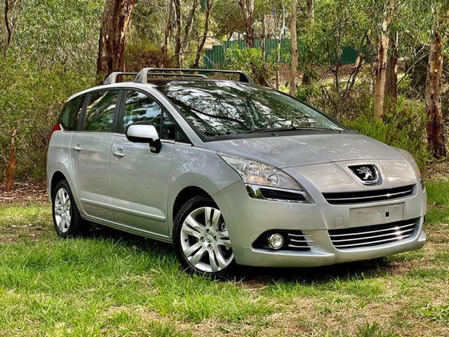 Used Peugeot 5008 MY13 Active Reynella, 2013 Peugeot 5008 MY13 Active Silver 6 Speed Automatic Wagon