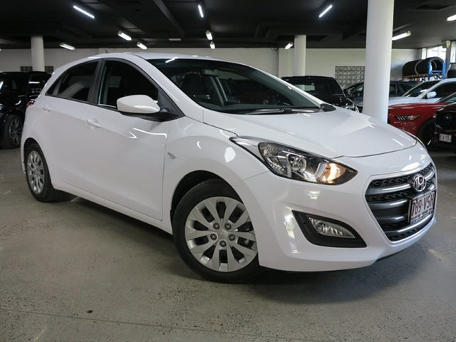 Used Hyundai i30 GD3 Series II MY16 Active Albion, 2015 Hyundai i30 GD3 Series II MY16 Active White 6 Speed Sports Automatic Hatchback