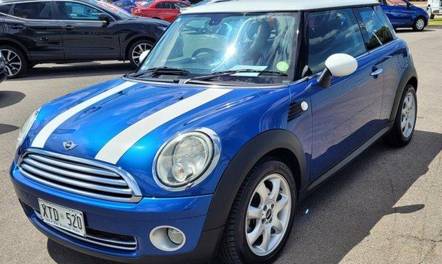 Used Mini Hatch R56 Cooper Chilli Morphett Vale, 2008 Mini Hatch R56 Cooper Chilli Blue 6 Speed Manual Hatchback