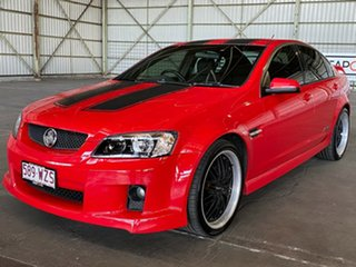 2008 Holden Commodore VE MY09 SS Red 6 Speed Manual Sedan.