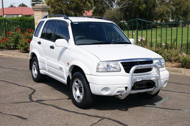 Used Suzuki Grand Vitara (4x4) Blair Athol, 2001 Suzuki Grand Vitara (4x4) White 4 Speed Automatic Wagon