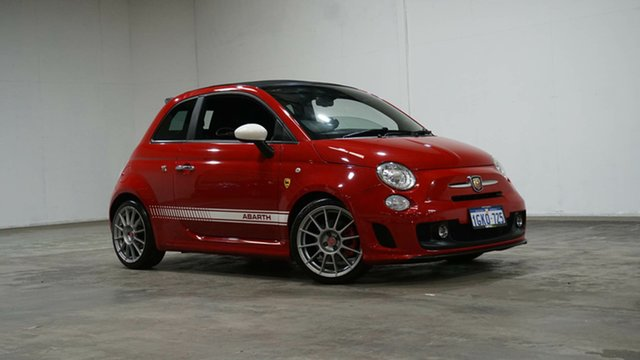 Used Abarth 500 Series 1 Esseesse MTA C Welshpool, 2013 Abarth 500 Series 1 Esseesse MTA C Red 5 Speed Seq Manual Auto-Clutch Convertible
