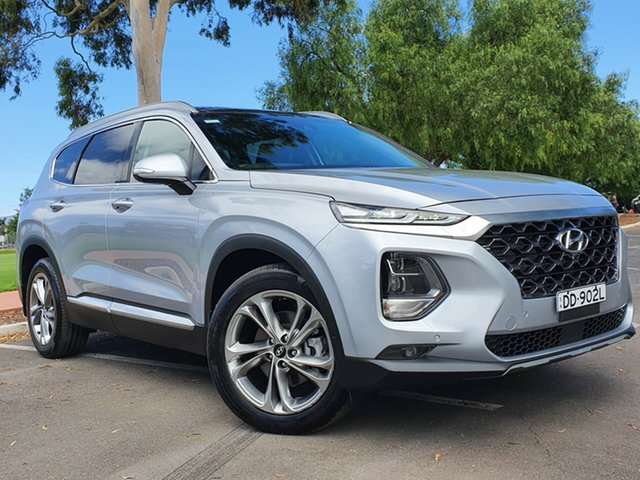 Used Hyundai Santa Fe TM MY19 Highlander Nailsworth, 2018 Hyundai Santa Fe TM MY19 Highlander Silver 8 Speed Sports Automatic Wagon
