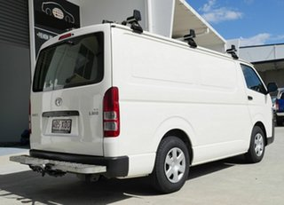2017 Toyota HiAce KDH201R LWB White 5 Speed Manual Van