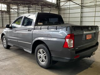 2012 Ssangyong Actyon Sports Q150 MY12 SX Grey 6 Speed Sports Automatic Utility
