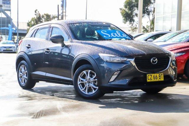 Used Mazda CX-3 DK2W7A Maxx SKYACTIV-Drive Kirrawee, 2016 Mazda CX-3 DK2W7A Maxx SKYACTIV-Drive Grey 6 Speed Sports Automatic Wagon