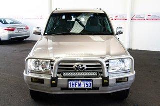 2006 Toyota Landcruiser HDJ100R Upgrade II GXL (4x4) Pewter 5 Speed Automatic Wagon.