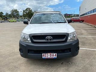 2011 Toyota Hilux WORKMATE TGN16R MY11 UPGRADE White 4 Speed Auto Active Select Cab Chassis