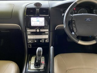 2008 Ford Fairmont BF Mk II Ghia Blue 6 Speed Sports Automatic Sedan