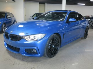 2015 BMW 4 Series F32 428i M Sport Estoril Blue 8 Speed Sports Automatic Coupe.