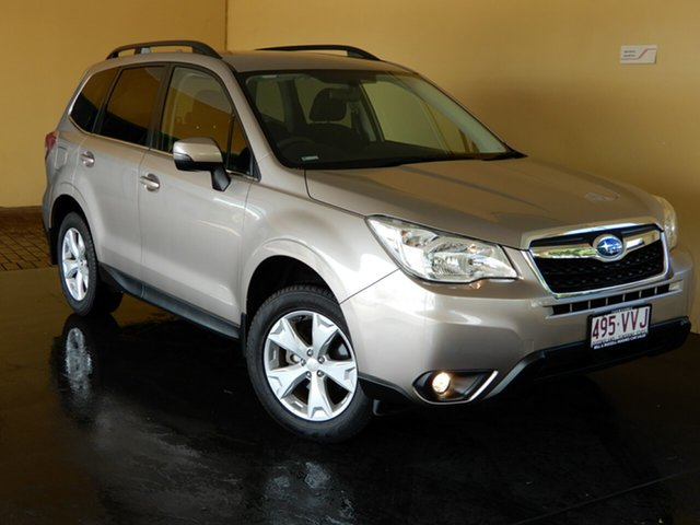 Used Subaru Forester MY14 2.5I Toowoomba, 2015 Subaru Forester MY14 2.5I Bronze Continuous Variable Wagon