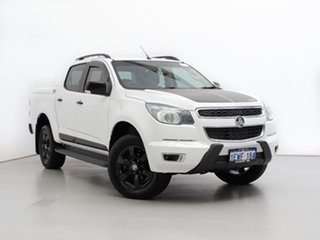 2015 Holden Colorado RG MY16 Z71 (4x4) White 6 Speed Automatic Crew Cab Pickup.