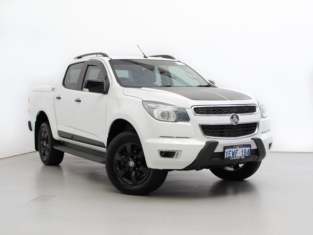 Used Holden Colorado RG MY16 Z71 (4x4), 2015 Holden Colorado RG MY16 Z71 (4x4) White 6 Speed Automatic Crew Cab Pickup