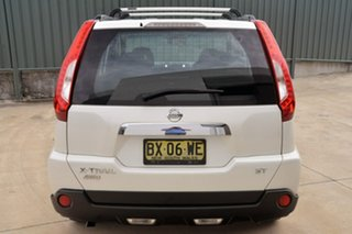2013 Nissan X-Trail T31 Series V ST White 6 Speed Manual Wagon