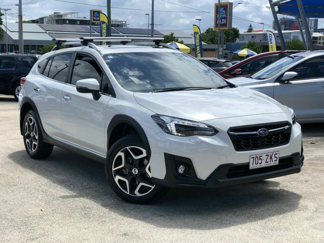 Used Subaru XV G5X MY19 2.0i-S Lineartronic AWD Chermside, 2019 Subaru XV G5X MY19 2.0i-S Lineartronic AWD White 7 Speed Constant Variable Wagon