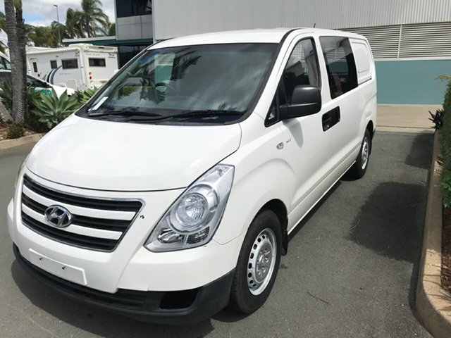 Used Hyundai iLOAD TQ3-V Series II MY16 Acacia Ridge, 2015 Hyundai iLOAD TQ3-V Series II MY16 White 5 speed Automatic Van