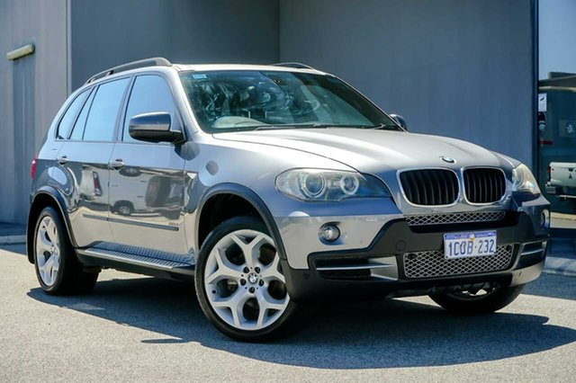 Used BMW X5 E70 d Steptronic Osborne Park, 2007 BMW X5 E70 d Steptronic Grey 6 Speed Sports Automatic Wagon