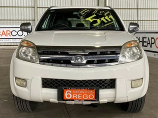 2010 Great Wall X240 CC6460KY White 5 Speed Manual Wagon