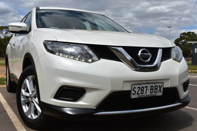 Used Nissan X-Trail T32 ST X-tronic 2WD St Marys, 2014 Nissan X-Trail T32 ST X-tronic 2WD White 7 Speed Constant Variable Wagon