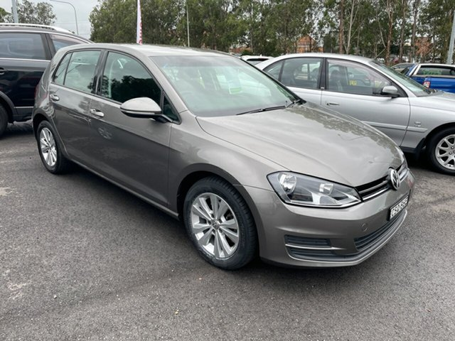 Used Volkswagen Golf VII MY14 90TSI DSG Maitland, 2014 Volkswagen Golf VII MY14 90TSI DSG Grey 7 Speed Sports Automatic Dual Clutch Hatchback