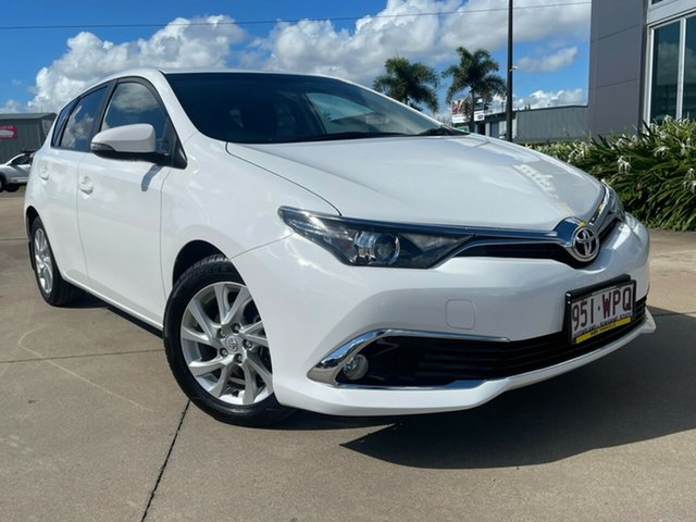 Used Toyota Corolla ZRE182R Ascent Sport S-CVT Townsville, 2016 Toyota Corolla ZRE182R Ascent Sport S-CVT White 7 Speed Constant Variable Hatchback
