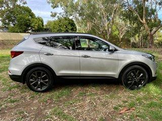 2017 Hyundai Santa Fe DM5 MY18 Active X 2WD Platnium Silver/blac 6 Speed Sports Automatic Wagon.