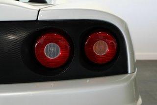 2002 Ferrari 360 Spider F1 Pearl White 6 Speed Seq Manual Auto-Clutch Convertible