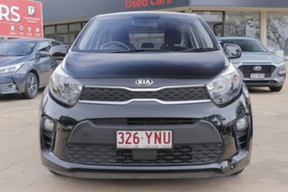 2018 Kia Picanto JA MY18 S Black 4 Speed Automatic Hatchback.
