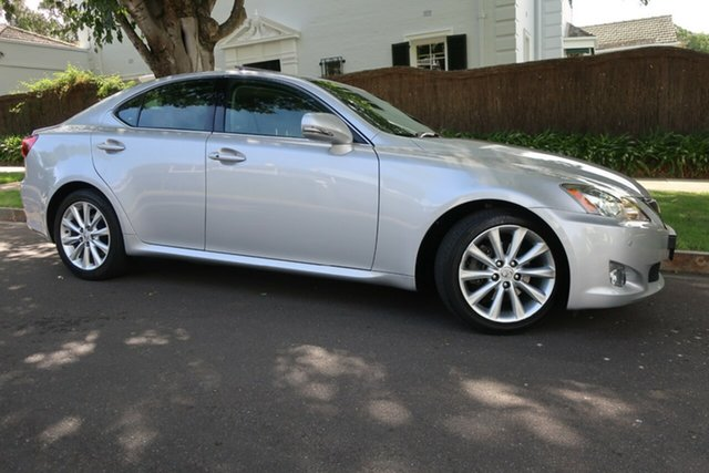 Used Lexus IS GSE20R MY10 IS250 Sports Luxury Prospect, 2009 Lexus IS GSE20R MY10 IS250 Sports Luxury Silver 6 Speed Sports Automatic Sedan