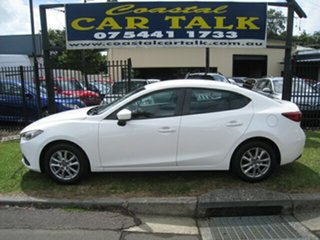 2015 Mazda 3 BM Neo White 6 Speed Automatic Sedan.