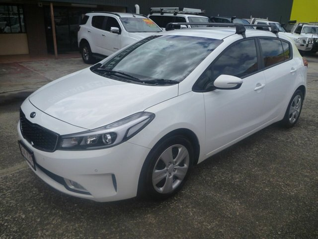 Used Kia Cerato BD MY19 S Morayfield, 2018 Kia Cerato BD MY19 S White 6 Speed Sports Automatic Hatchback