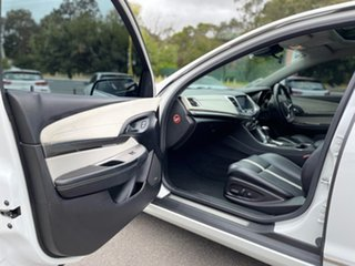 2016 Holden Calais V White Sports Automatic Sedan