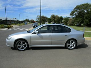 2005 Subaru Liberty MY05 2.0I Silver 4 Speed Auto Elec Sportshift Sedan