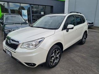 2014 Subaru Forester S4 MY14 2.5i-S Lineartronic AWD White 6 Speed Constant Variable Wagon