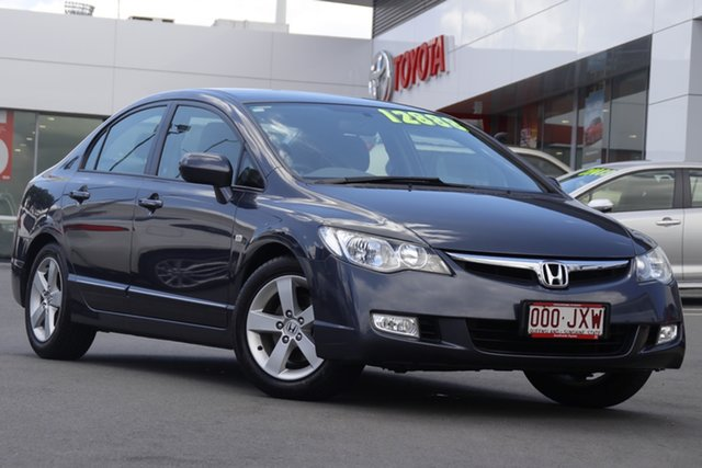 Pre-Owned Honda Civic 8th Gen VTi Woolloongabba, 2006 Honda Civic 8th Gen VTi Grey 5 Speed Automatic Sedan
