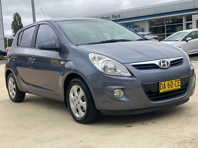 Used Hyundai i20 Elite Goulburn, 2010 Hyundai i20 Elite Grey Manual Hatchback