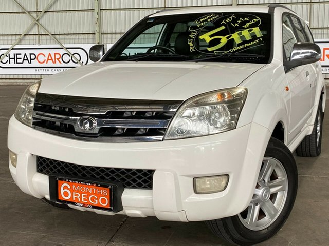 Used Great Wall X240 CC6460KY Rocklea, 2010 Great Wall X240 CC6460KY White 5 Speed Manual Wagon