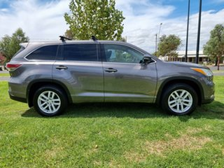 2015 Toyota Kluger GSU55R GX AWD Silver 6 Speed Sports Automatic Wagon.