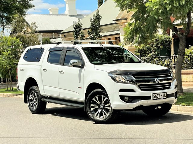 Used Holden Colorado RG MY18 LTZ Pickup Crew Cab Hyde Park, 2017 Holden Colorado RG MY18 LTZ Pickup Crew Cab White 6 Speed Manual Utility