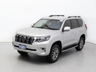 2018 Toyota Landcruiser Prado GDJ150R MY17 VX (4x4) Silver 6 Speed Automatic Wagon