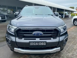 2020 Ford Ranger Wildtrak Grey Sports Automatic Double Cab Pick Up.